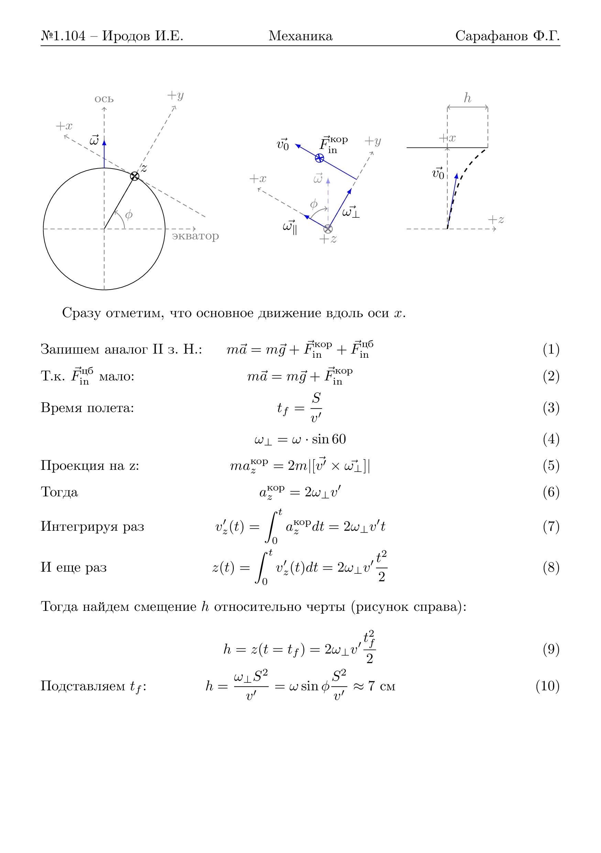 И.е. физике иродов общей 1988 решебник по задачи